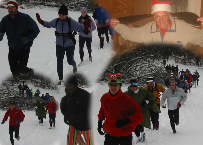 Collage of photos from the 2003 MGM 50 km