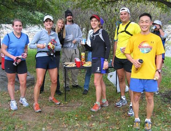 Runners at Second Aid Station