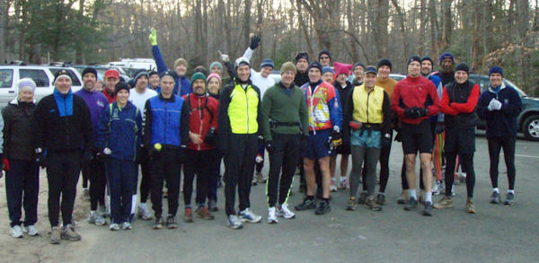 Group at the start.