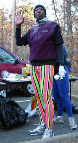 Jim Moore in his Eric Clifton tights