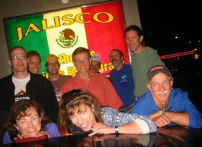Ring Participants in Happier Days — at Jaliscos