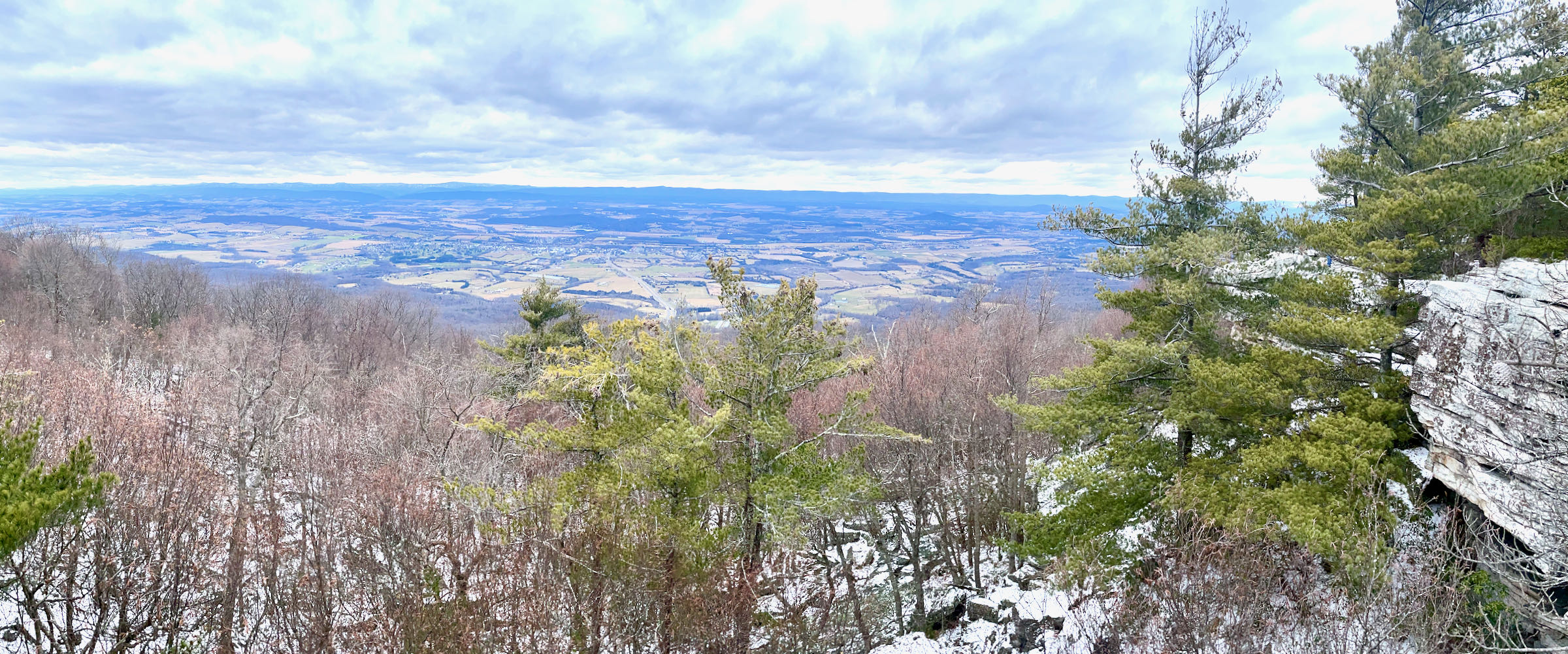 View of the Shenandoah Valley from Bird Knob