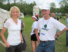 Susan Donnelly with Kevin Sayers
