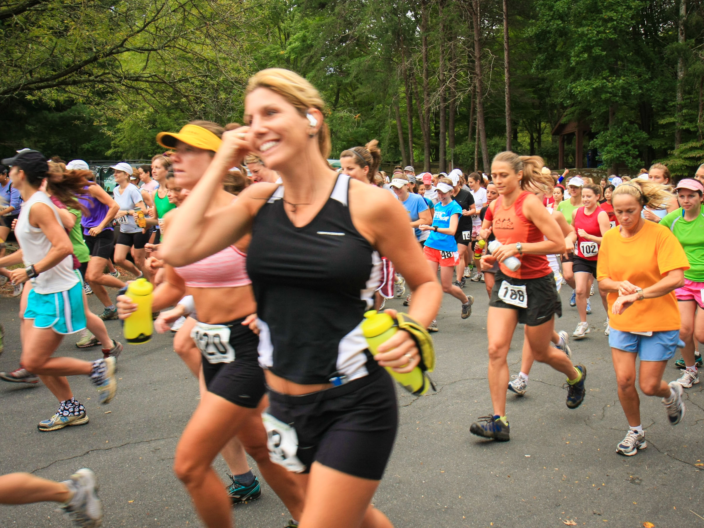 Starting the 2009 Women's Half Marathon