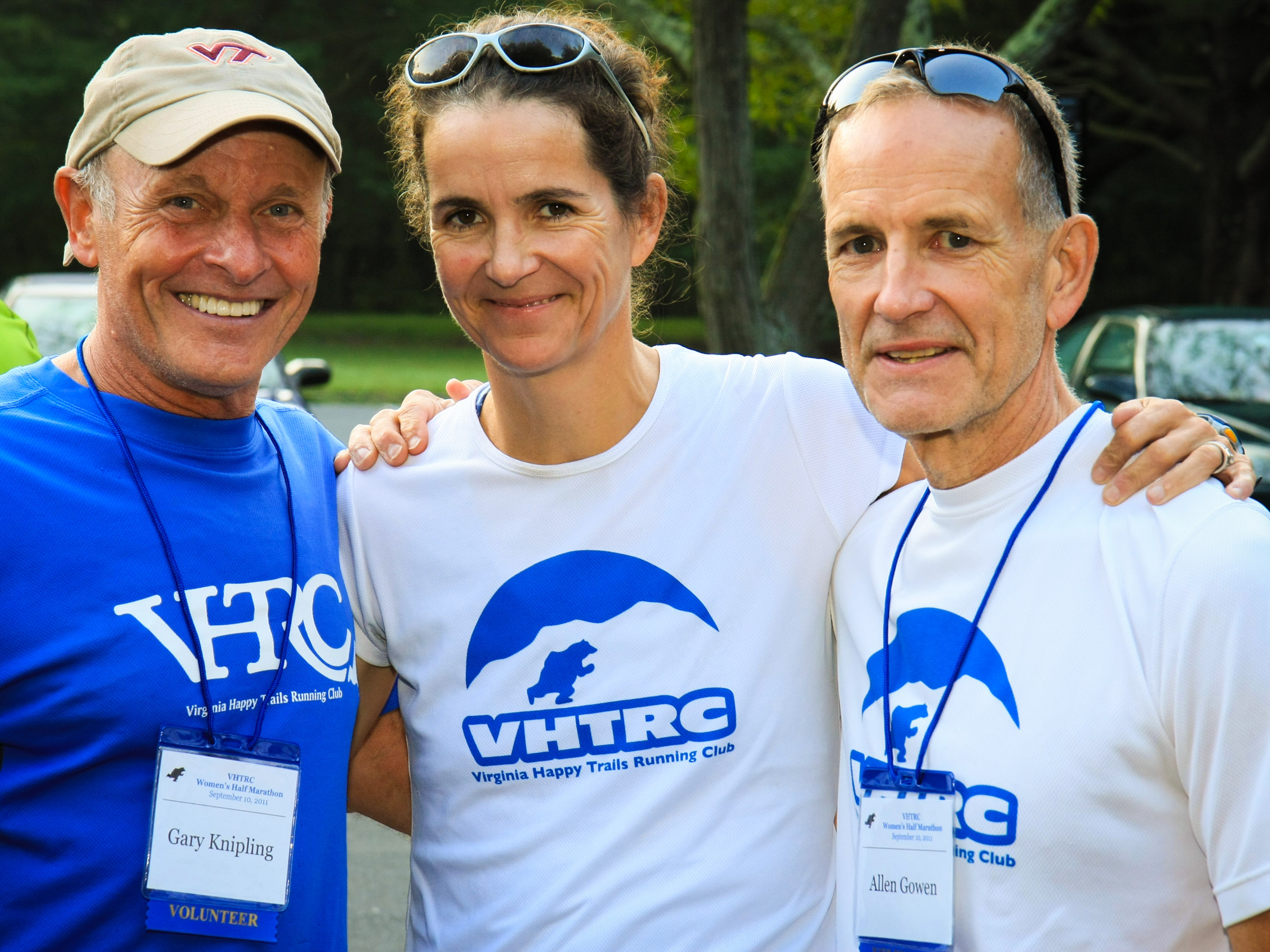 Gary Knipling, Sophie Speidel, and Alan Gowen: Volunteers from the 2011 event