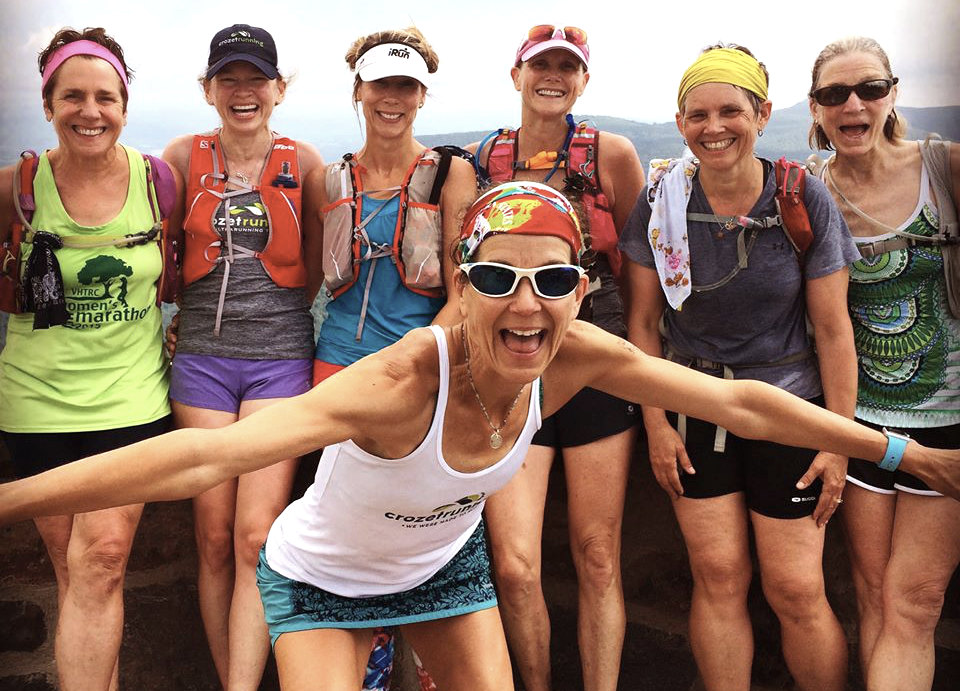 Sophie Speidel and friends on Hawksbill