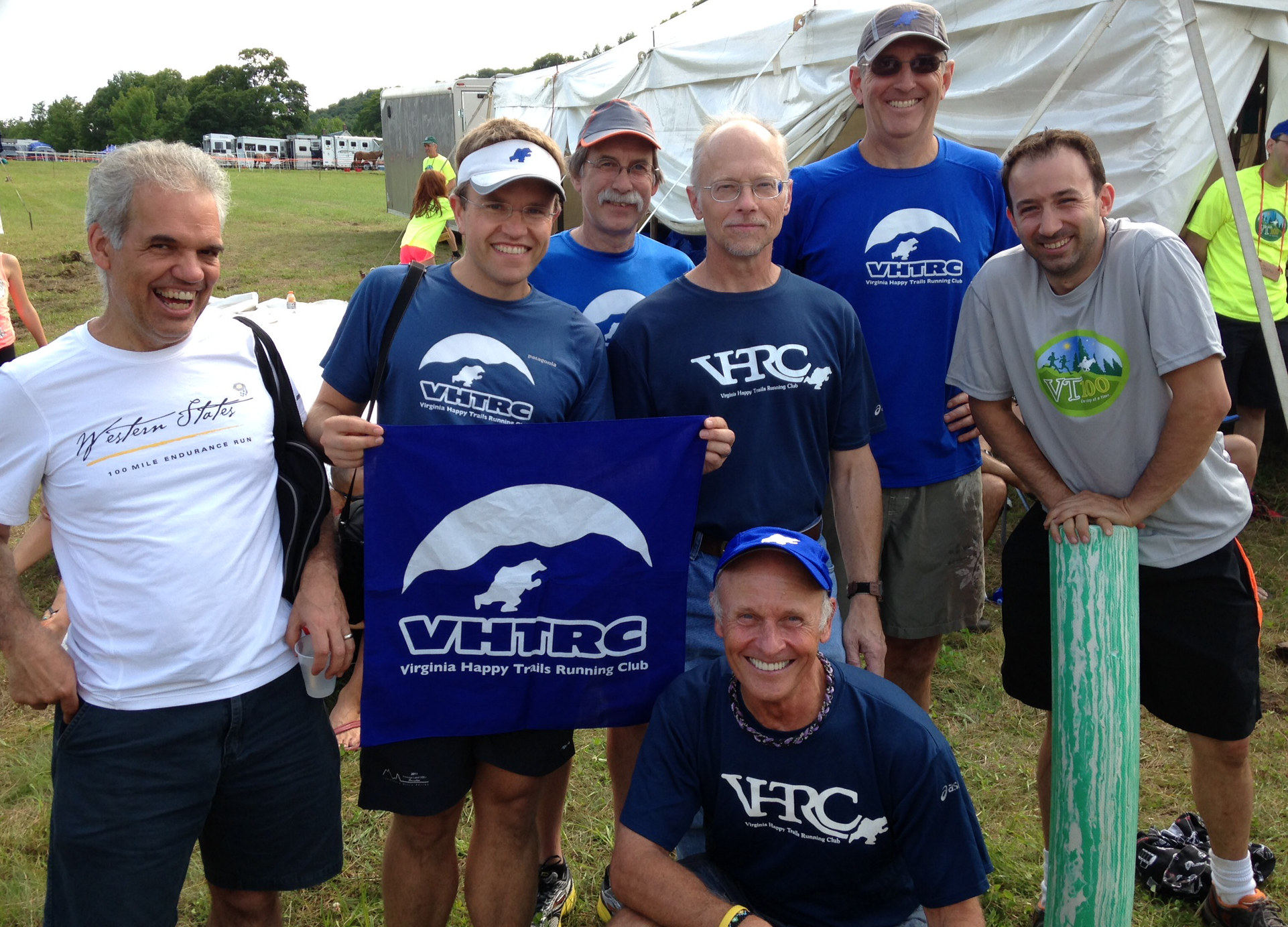 VHTRC SWAG at the 2014 Vermont 100