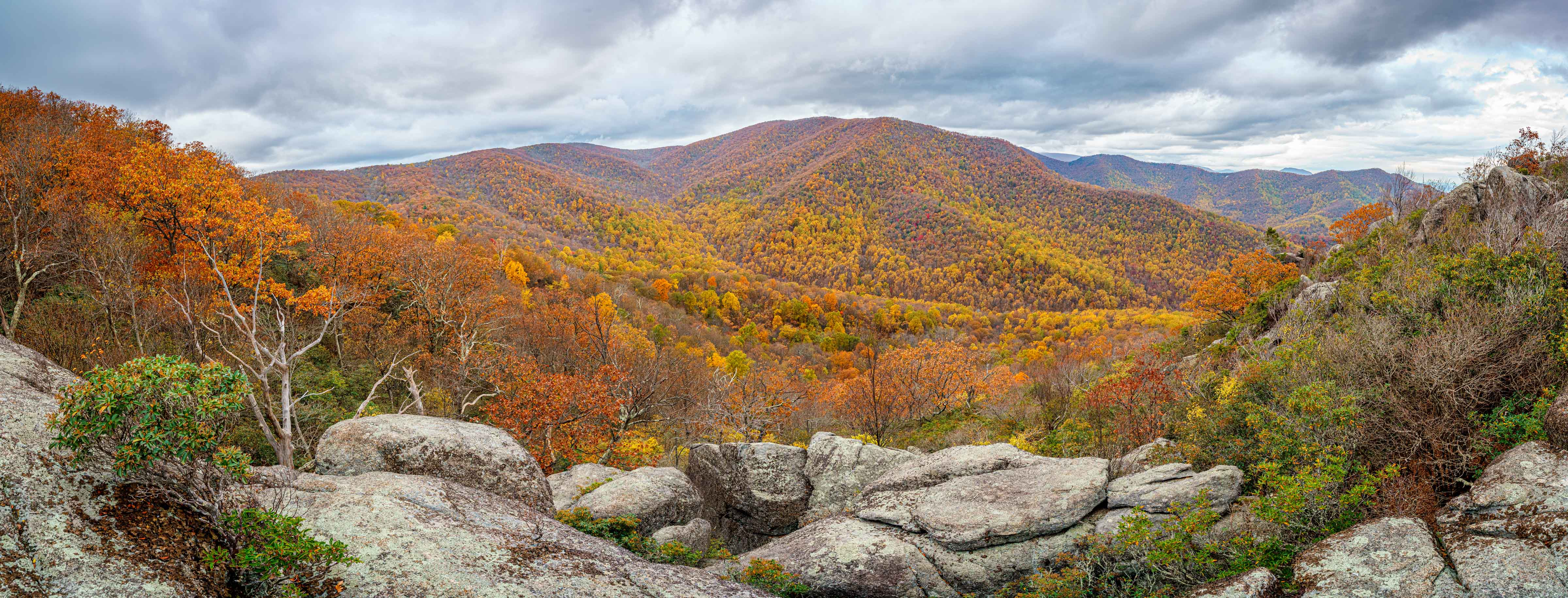 Panoramic view from Bear Church Rock